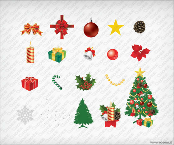 Immagini Vettoriali Natale.Natale Vettoriale 3 Pack 60 Ideem Idee Montabili